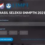 Pengumuman Hasil SNMPTN 2021