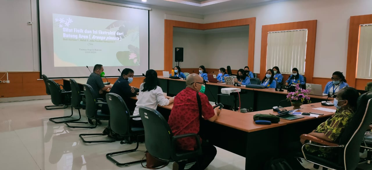 Penyelenggaraan Program Kampus Merdeka Prodi Biologi FMIPA Unsrat di Balit Palma Diakhiri dengan Seminar Review Hasil-hasil Penelitian di Bidang Palma