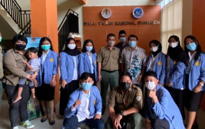 Balai Taman Nasional Bunaken Menyelenggarakan Seminar Hasil-hasil Penelitian Mahasiswa Program Kampus Merdeka Prodi Biologi FMIPA Unsrat
