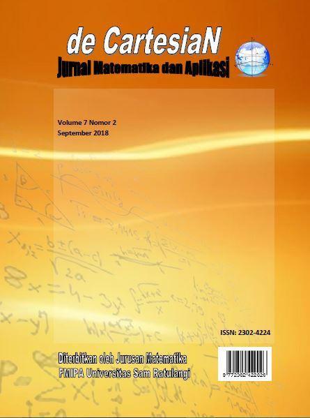 d'Cartesian: Jurnal Matematika dan Aplikasi